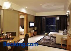 Dan Executive Apartment Guangzhou - Guangzhou - Living room