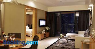 Dan Executive Apartment Guangzhou - Kanton - Huiskamer