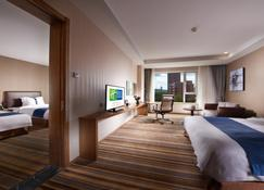 Holiday Inn Express Ordos Dongsheng - Ordos City - Bedroom