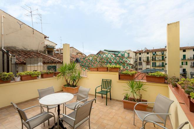 Hotel Basilea - Florencia - Balcón