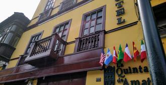 La Quinta de Amat - Lima - Edificio