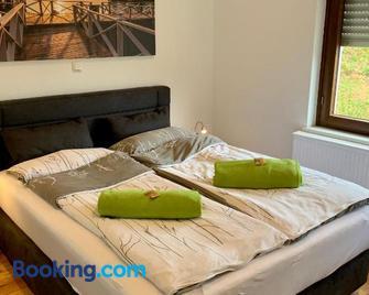Apartmenthaus Ruhezeit - Bad Endbach - Bedroom