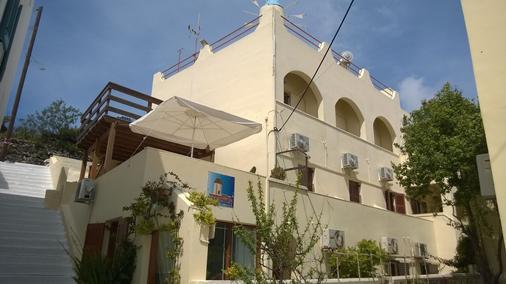Anemomilos Villa - Firá - Rakennus