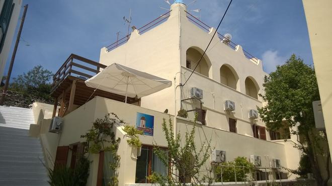 Anemomilos Villa - Thera - Building