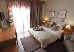 Achillion Hotel - Athene - Slaapkamer