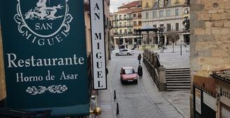 San Miguel - Segovia - Outdoors view