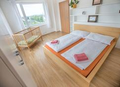 Apartment Pulse Fitness - Benešov - Bedroom