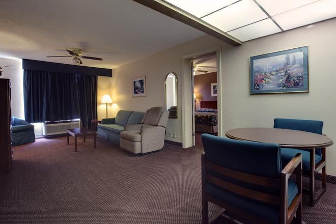 Americas Best Value Inn Marshall - Marshall - Living room