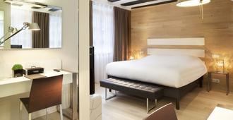 Hotel Le Colombier Suites - קולמר - חדר שינה