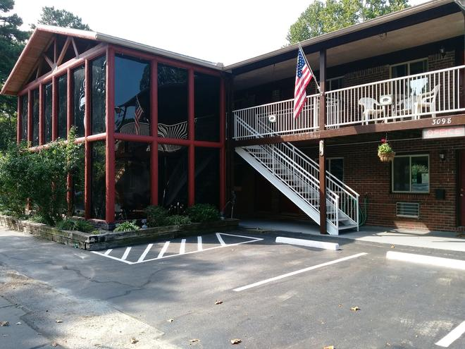 The Lookout Lodge - Eureka Springs - Bygning