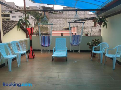 Hostal Y Complejo Recreacional La Playita De Monse - Otavalo - Balcony