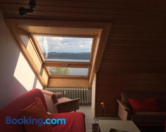 Atelierwohnung mit Seeblick - Sipplingen - Huiskamer