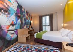Hotel Gran Bilbao - บิลเบา - ห้องนอน