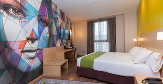 Hotel Gran Bilbao - Bilbao - Yatak Odası