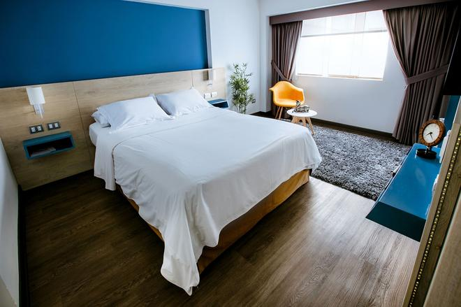 丹尼爾公寓酒店式 - 利馬 - 利馬 - 臥室