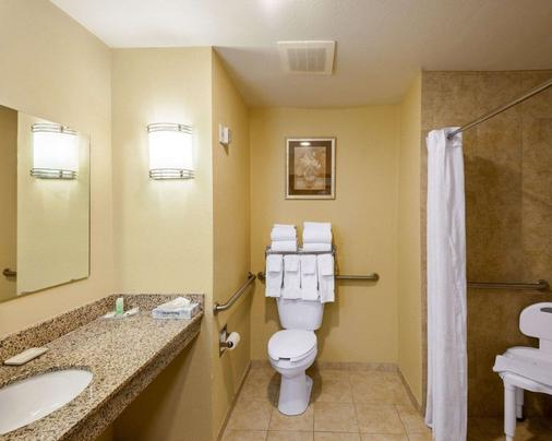 Comfort Inn & Suites Regional Medical Center - Abilene - Bathroom