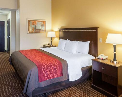 Comfort Inn & Suites Regional Medical Center - Abilene - Bedroom