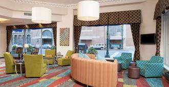 Hampton Inn Indianapolis Dwtn Across from Circle Centre - Indianápolis - Sala de estar