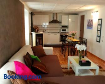 Appartamento via Luina - Airolo - Living room