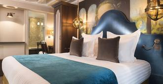 Hotel Da Vinci - פריז - חדר שינה