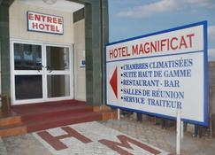 Hotel Magnificat - Lomé - Outdoor view