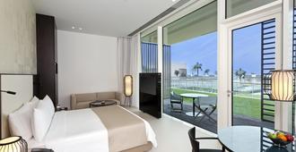 阿爾左拉的歐貝羅伊海灘度假酒店 - 阿治曼 - 臥室