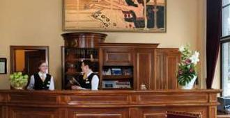 Victor's Residenz-Hotel Leipzig - Leipzig - Front desk