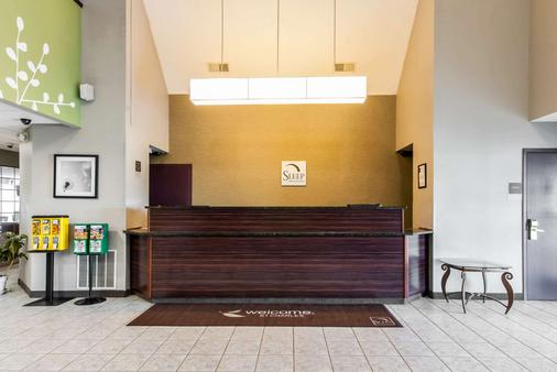 Sleep Inn - St. Charles - Front desk