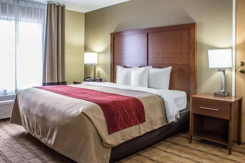 Comfort Inn and Suites Cedar Rapids North - Collins Road - Cedar Rapids - Bedroom