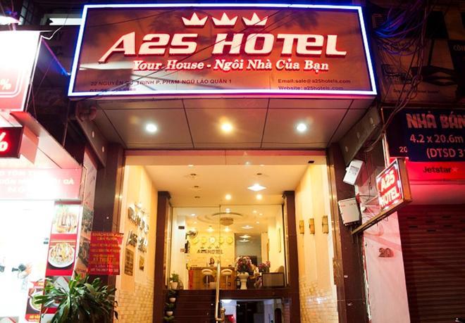 A25 Hotel - Nguyen Cu Trinh - Ho Chi Minh City - Κτίριο