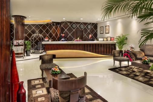 Savoy Suites Hotel Apartments - Ντουμπάι - Ρεσεψιόν