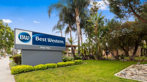 Best Western Pine Tree Motel - Chino - Building