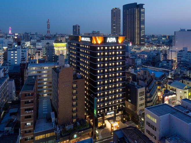 アパホテル〈なんば駅東〉 - 大阪市 - 屋外の景色