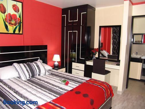 Hostal Y Complejo Recreacional La Playita De Monse - Otavalo - Bedroom