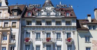 Des Alpes - Luzerne - Bygning