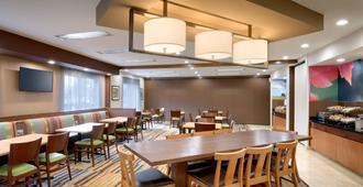 Fairfield Inn & Suites by Marriott Salt Lake City Airport - סולט לייק סיטי - מסעדה