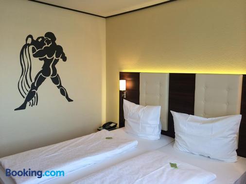 Hotel Zum Rosengarten - Darmstadt - Phòng ngủ