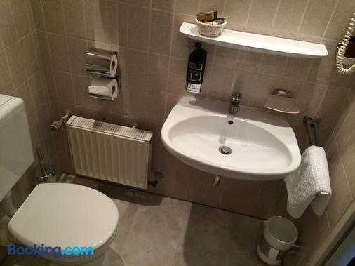 Hotel Restaurant Rosengarten - Darmstadt - Bathroom