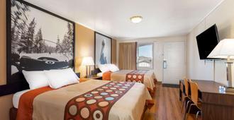 Super 8 by Wyndham Evanston - Evanston - Bedroom