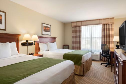 卡爾森鄉村套房酒店(伊利亞諾州皮奧里亞北部) - 皮奥利亞 - 皮奧里亞 - 臥室
