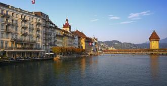 Hotel Des Balances - Lucerne - Outdoor view