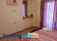 Ikaria village-ground floor No 4 - Khloraka - Bedroom