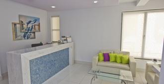 Nafsika Hotel - Rhodos - Resepsjon