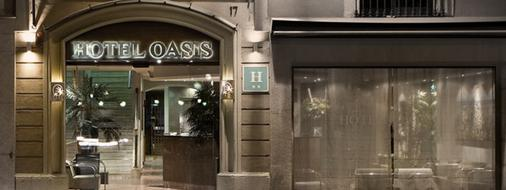 Hotel Oasis - Barcelona - Outdoors view