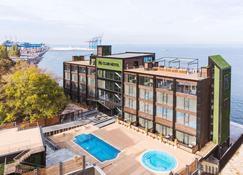 M1 club hotel - Odesa - Rakennus