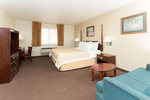 科羅拉多斯普林斯機場戴斯酒店 - 科羅拉多斯普林斯 - 科羅拉多斯普林斯 - 臥室
