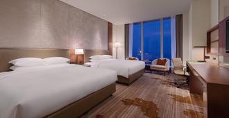 台北六福萬怡酒店 - 台北 - 臥室