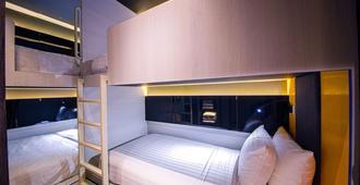 Cube Family Boutique Capsule Hotel @ Chinatown (Sg Clean) - Singapore - חדר שינה