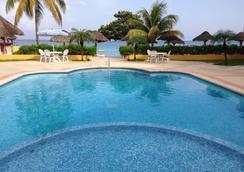 Playa Azul Golf Scuba Spa Hotel - Cozumel - Πισίνα