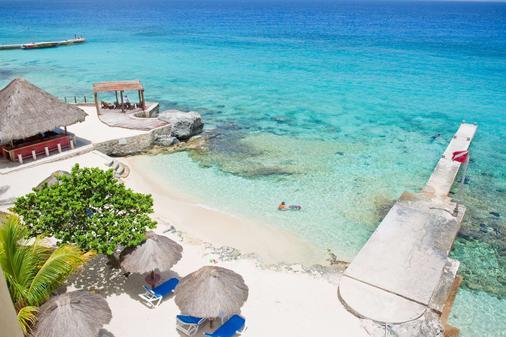 Playa Azul Golf Scuba Spa Hotel - Cozumel - Παραλία
